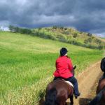 Passeggiate a cavallo in Val di Cornia