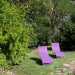 Sdraio in giardino - Agriturismo biologico Cortevilla