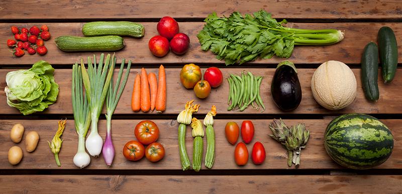 Prodotti agricoli biologici in toscana maremma suvereto - Immagine di frutta e verdura ...