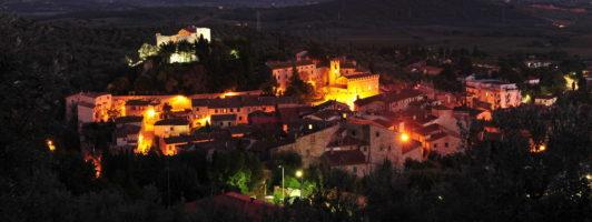 Suvereto Panoramica notturna
